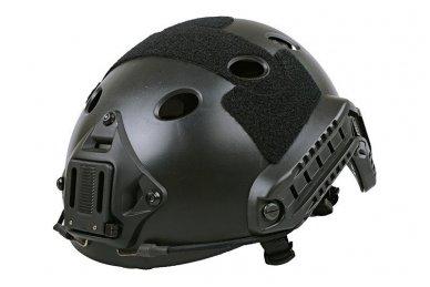 Taktinis šalmas X-Shield FAST PJ Juodas