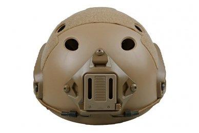 Taktinis šalmas X-Shield FAST PJ Tan 2