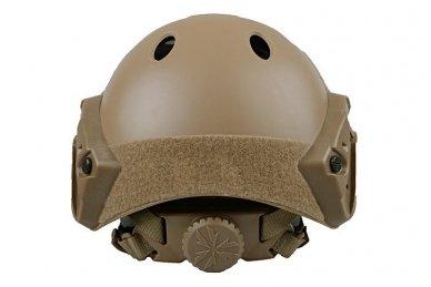 Taktinis šalmas X-Shield FAST PJ Tan 5