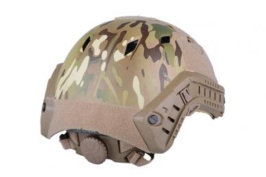 Taktinis šalmas X-Shield FAST BJ Multicamo 2