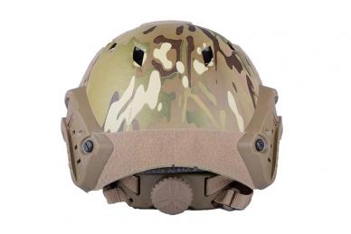 Taktinis šalmas X-Shield FAST BJ Multicamo 5